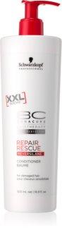 Schwarzkopf Professional BC Bonacure Repair Rescue čistiaci krém na holenie pre poškodené vlasy