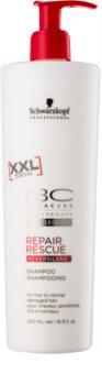 Schwarzkopf Professional BC Bonacure Repair Rescue šampón pre poškodené vlasy