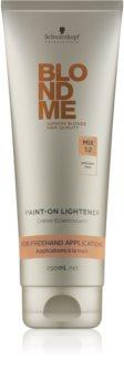 Schwarzkopf Professional Blondme zosvetľujúci krém bez amoniaku