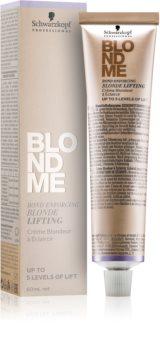 Schwarzkopf Professional Blondme élénkítő krém szőke hajra