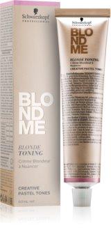 Schwarzkopf Professional Blondme tonizáló krém szőke hajra