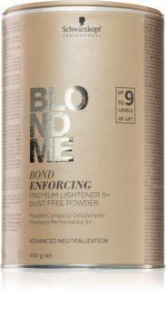Schwarzkopf Professional Blondme poudre premium éclaircissante 9+ sans poussière
