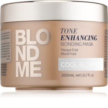 Schwarzkopf Professional Blondme nährende Haarmaske für kalte Blondtöne