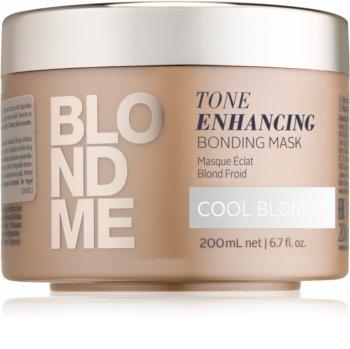 Schwarzkopf Professional Blondme Voedende Haarmasker  voor Koude Blond Tinten