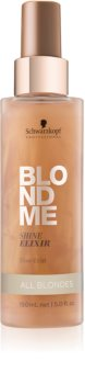 Schwarzkopf Professional Blondme ελιξίριο χωρίς ξέβγαλμα για έντονη λάμψη για όλες τις αποχρώσεις του ξανθού