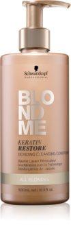 Schwarzkopf Professional Blondme čistiaci kondicionér pre všetky typy blond vlasov