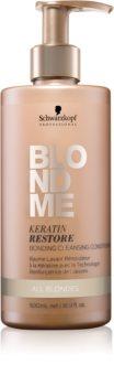 Schwarzkopf Professional Blondme čistilni balzam za vse tipe blond las