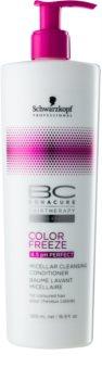 Schwarzkopf Professional PH 4,5 BC Bonacure Color Freeze tisztító micelláris kondicionáló festett hajra