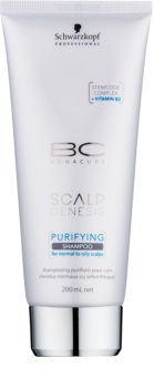 Schwarzkopf Professional BC Bonacure Scalp Genesis champô de limpeza para cabelo normal a oleoso