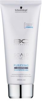 Schwarzkopf Professional BC Bonacure Scalp Genesis čistiaci šampón pre normálne až mastné vlasy
