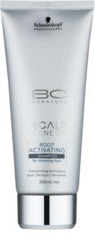 Schwarzkopf Professional BC Bonacure Scalp Genesis aktivační šampon pro řídnoucí vlasy