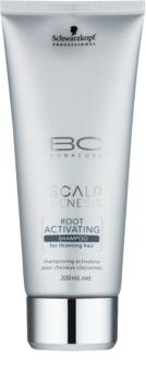 Schwarzkopf Professional BC Bonacure Scalp Genesis ενεργοποιητικό σαμπουάν για μαλλιά με τάση  αραίωσης