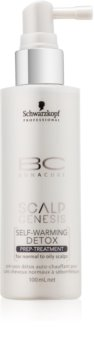 Schwarzkopf Professional BC Bonacure Scalp Genesis Self-Warming Detox Prep-Treatment