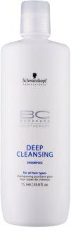 Schwarzkopf Professional BC Bonacure Hairtherapy hĺbkovo čistiaci šampón