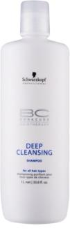 Schwarzkopf Professional BC Bonacure Hairtherapy szampon dogłębnie oczyszczający