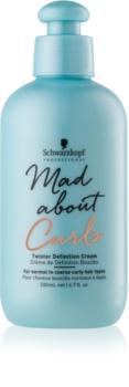 Schwarzkopf Professional Mad About Curls bogata vlažilna krema za valovite lase