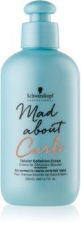 Schwarzkopf Professional Mad About Curls bohatý hydratačný krém pre vlnité vlasy