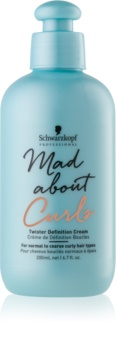 Schwarzkopf Professional Mad About Curls Moisturizing Styling Cream For Wavy Hair