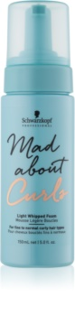 Schwarzkopf Professional Mad About Curls Hair Mousse for Definition and Shape