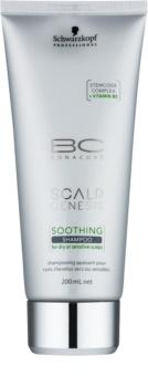 Schwarzkopf Professional BC Bonacure Scalp Genesis Hautberuhigendes Shampoo für trockenes Haar und empfindliche Kopfhaut
