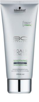 Schwarzkopf Professional BC Bonacure Scalp Genesis kalmerende shampoo voor droog haar en de gevoelige hoofdhuid