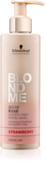 Schwarzkopf Professional Blondme champú sin sulfatos para cabello rubio