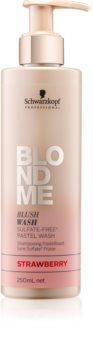 Schwarzkopf Professional Blondme shampoing sans sulfates pour cheveux blonds
