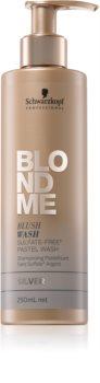 Schwarzkopf Professional Blondme champô com cor para cabelo loiro e grisalho