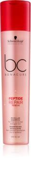 Schwarzkopf Professional BC Bonacure Peptide Repair Rescue Micellar Shampoo For Damaged Hair