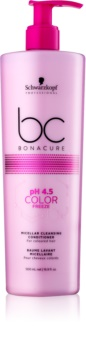 Schwarzkopf Professional pH 4,5 BC Bonacure Color Freeze Micellar Cleansing Condicioner For Colored Hair