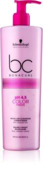 Schwarzkopf Professional pH 4,5 BC Bonacure Color Freeze micellás tisztító kondicionáló festett hajra
