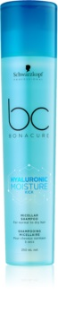 Schwarzkopf Professional BC Bonacure Moisture Kick Mizellen-Shampoo für trockenes Haar
