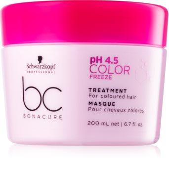 Schwarzkopf Professional pH 4,5 BC Bonacure Color Freeze maschera per capelli tinti