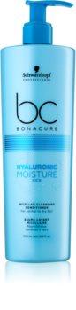 Schwarzkopf Professional BC Bonacure Hyaluronic Moisture Kick micelarni čistilni balzam za suhe lase