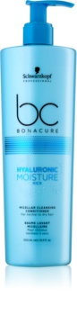 Schwarzkopf Professional BC Bonacure Moisture Kick micelárny čistiaci kondicionér pre suché vlasy
