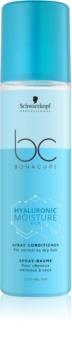 Schwarzkopf Professional BC Bonacure Moisture Kick après-shampoing hydratant en spray pour cheveux normaux à secs