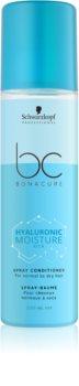 Schwarzkopf Professional BC Bonacure Moisture Kick зволожуючий кондиціонер у формі спрею для нормального та сухого волосся