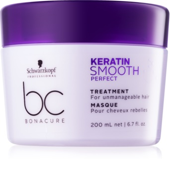 Schwarzkopf Professional BC Bonacure Smooth Perfect Mask For Unruly And Frizzy Hair
