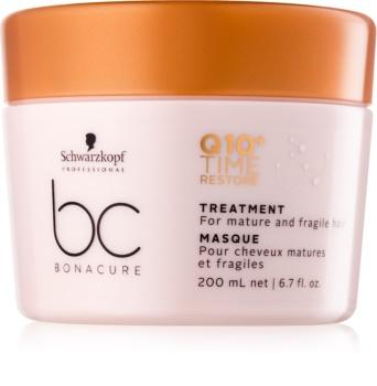 Schwarzkopf Professional BC Bonacure Time Restore Q10 maska za tanke do normalne lase