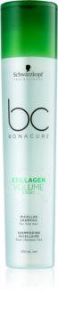 Schwarzkopf Professional BC Bonacure Volume Boost micelarni šampon  za lase brez volumna