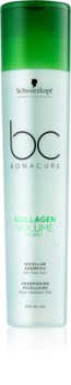 Schwarzkopf Professional BC Bonacure Volume Boost shampoing micellaire pour cheveux sans volume