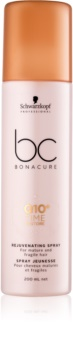 Schwarzkopf Professional BC Bonacure Time Restore Q10 spray rejuvenescedor para cabelo maduro e frágil