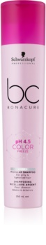 Schwarzkopf Professional pH 4,5 BC Bonacure Color Freeze Micellar Shampoo for Bleached Hair