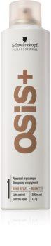 Schwarzkopf Professional Osis+ Boho Rebel osvěžující suchý šampon pro hnědé odstíny vlasů