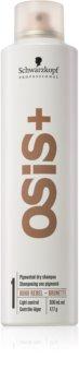 Schwarzkopf Professional Osis+ Boho Rebel shampooing sec rafraîchissant pour cheveux bruns