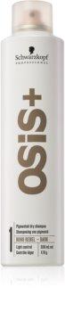 Schwarzkopf Professional Osis+ Boho Rebel osviežujúci suchý šampón pre tmavé vlasy