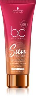 Schwarzkopf Professional BC Bonacure Sun Protect shampoo protettivo per capelli e corpo
