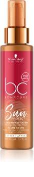 Schwarzkopf Professional BC Bonacure Sun Protect Conditioner ohne Ausspülen für durch Chlor, Sonne oder Salzwasser geschädigtes Haar