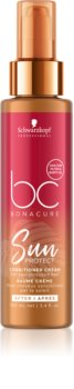 Schwarzkopf Professional BC Bonacure Sun Protect Leave - In Conditioner for Hair Damaged by Chlorine, Sun & Salt