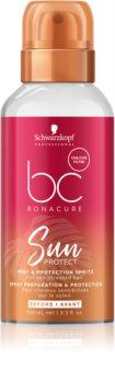 Schwarzkopf Professional BC Bonacure Sun Protect spray protetor para cabelo danificado pelas ações do sol, cloro e sal